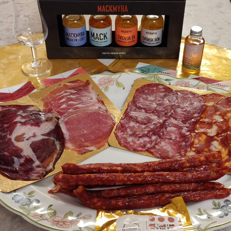 Butchers cured with whisky