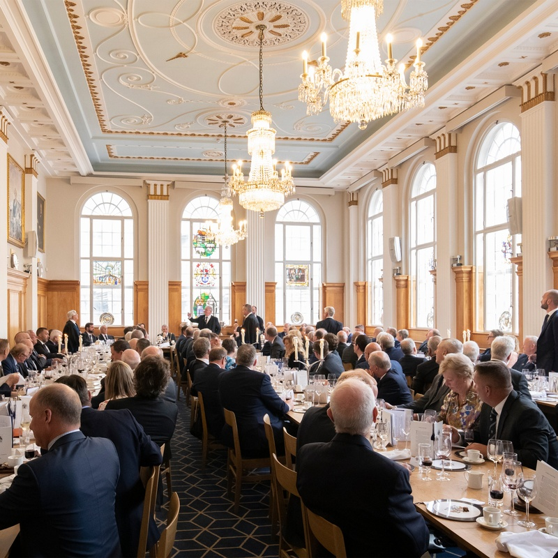 Record numbers at Butchers' Hall