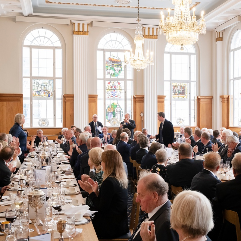 Much to celebrate at first 'traditional' Court Lunch in 18 months