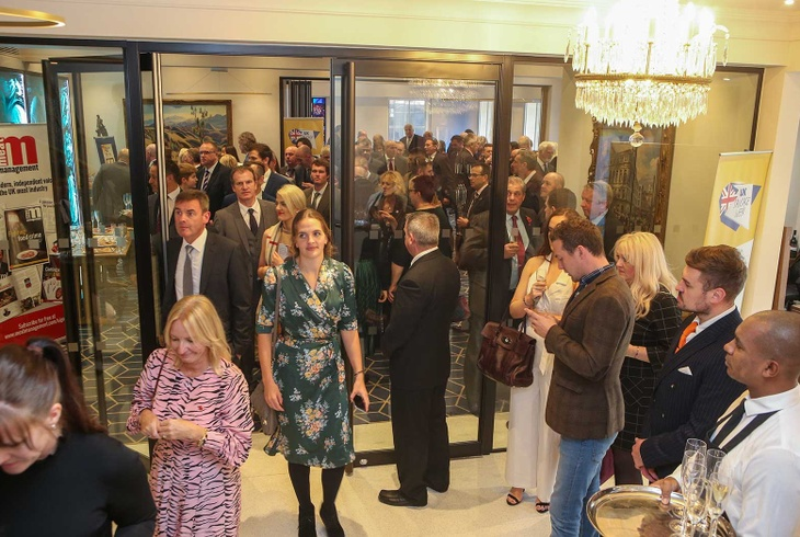 Butchers' Hall drinks reception