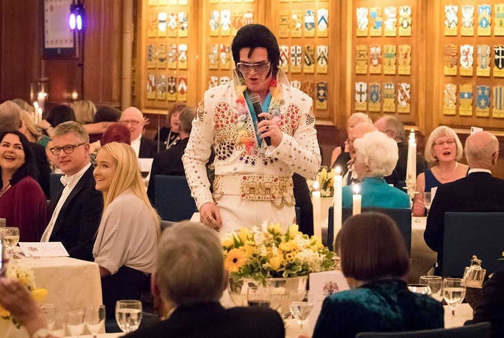 Ladies Banquet 2018 Entertainment With Elvis.