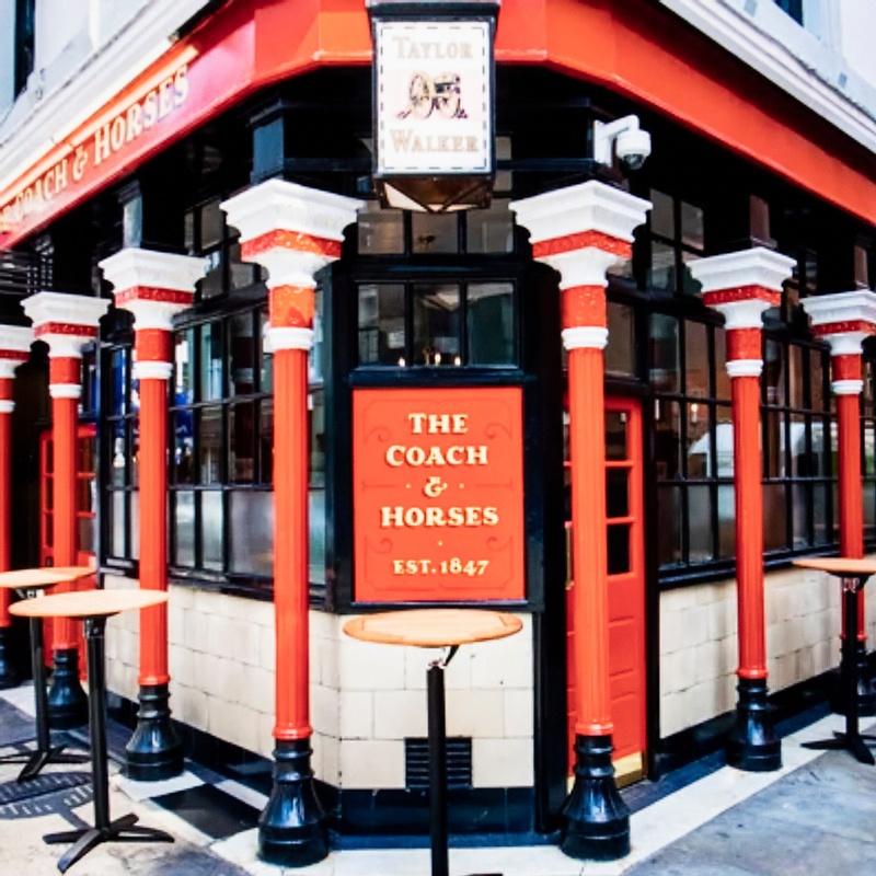 Virtual Pub Crawl - Crawling through London's Liquid History