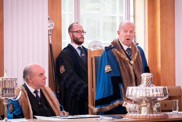New Master, Andrew Parker addresses Common Hall 2020