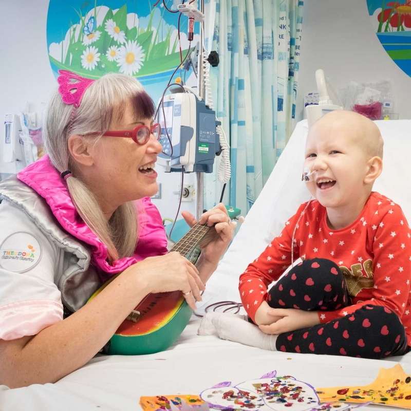 Theodora Children's Charity: the impact of our support