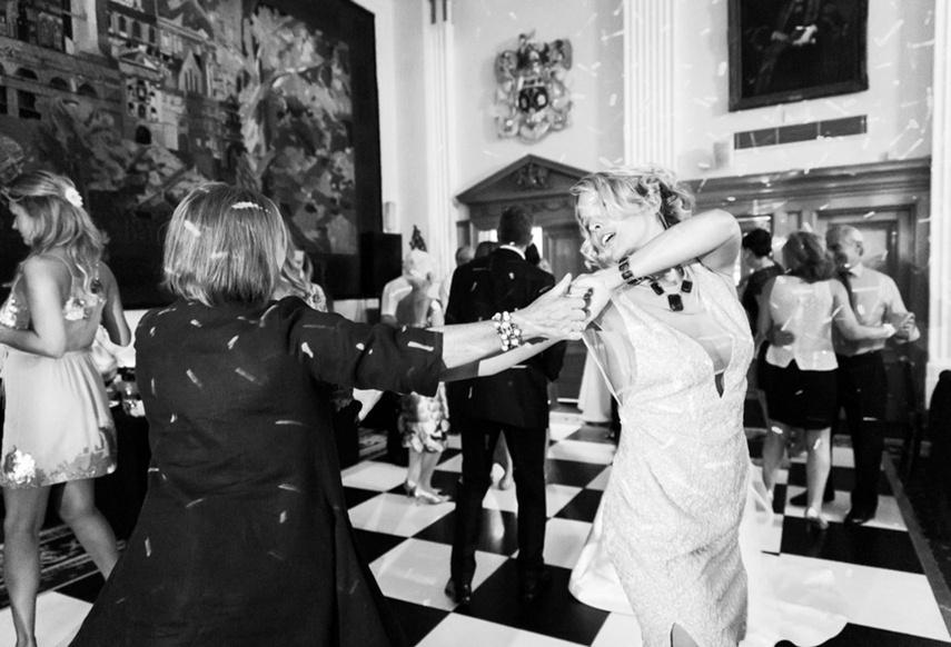 Butchers' Hall - people dancing at wedding