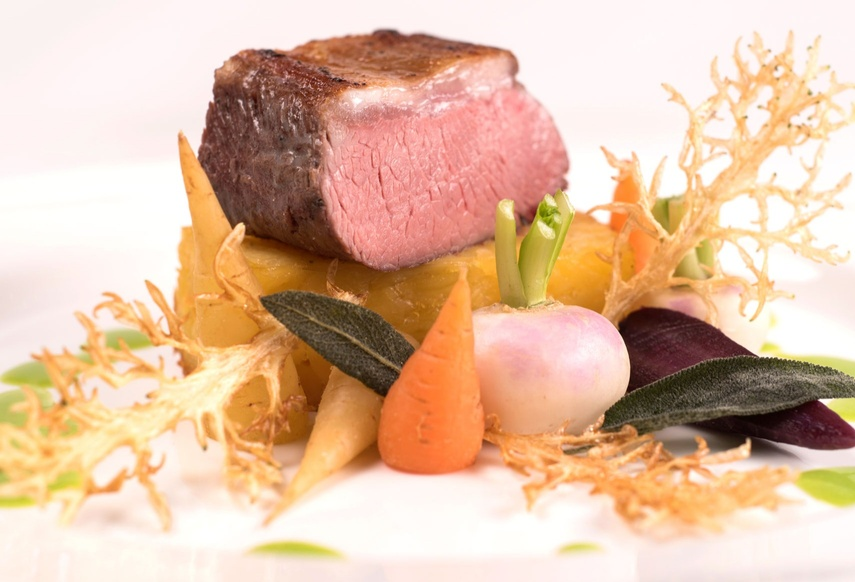 Butchers' Hall - Meat dish with vegetables
