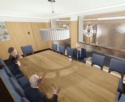 Butchers' Hall - Artist's' Impression of Mezzanine Meeting Room