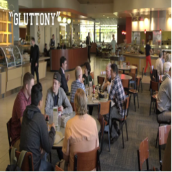 Judgmental Moose - Gluttony