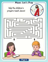 Maze : Let's Pray