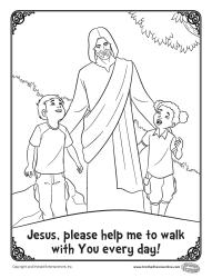 Help me to walk with you everyday