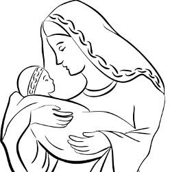 Mary and Infant Jesus 3
