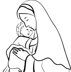 Mary and Infant Jesus 2