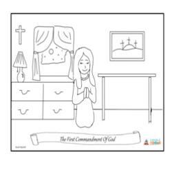 Lesson 16 - The First Commandment of God Grade 6-8 ...
