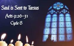 Saul is Sent to Tarsus