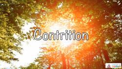 Lesson 30 - Contrition Grade 3-5