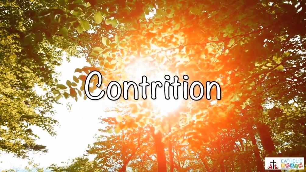 Lesson 30 - Contrition Grade 6-8