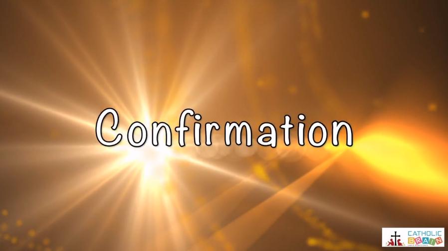 Lesson 25 - Confirmation Grade 3-5
