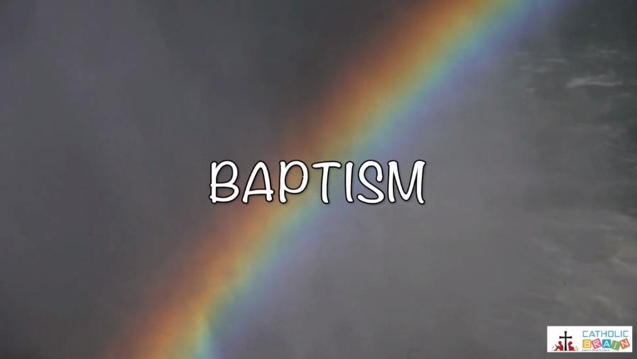 Lesson 24 - Baptism Grade 3-5