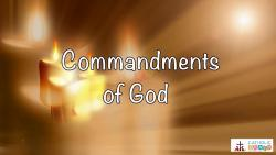Lesson 18 - The 2nd and 3rd Commandments of God Grade 6-8