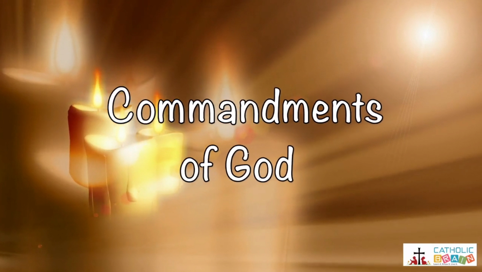 Lesson 18 - The 2nd and 3rd Commandments of God Grade 3-5