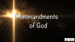 Lesson 19 - The 4th, 5th, and 6th Commandments of God Grade 6-8