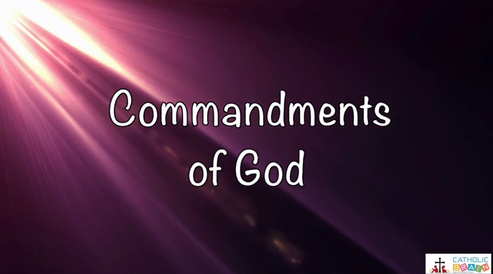 Lesson 20 - The 7th, 8th, 9th, and 10th Commandments of God Grade 3-5
