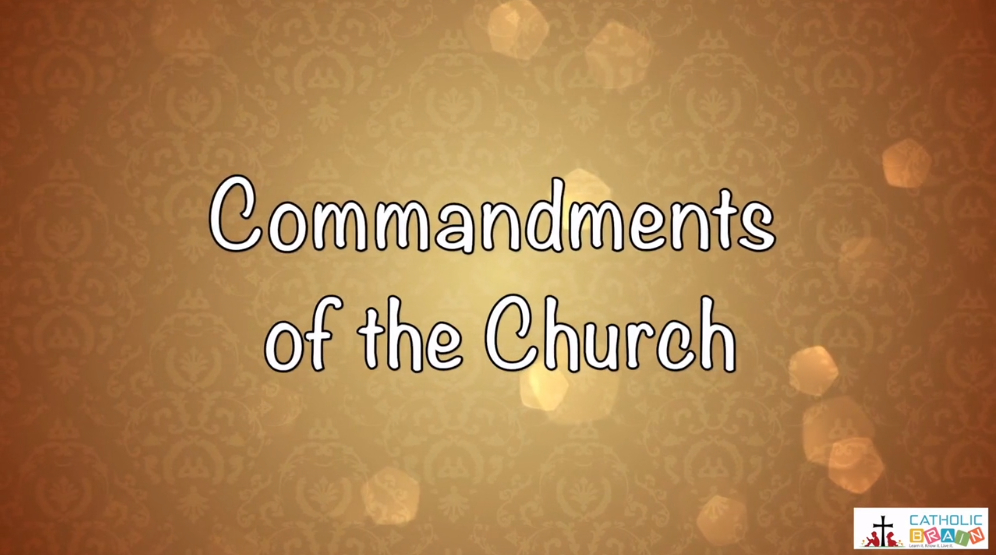 Lesson 22 - The 3rd, 4th, 5th, and 6th Commandments Grade 3-5