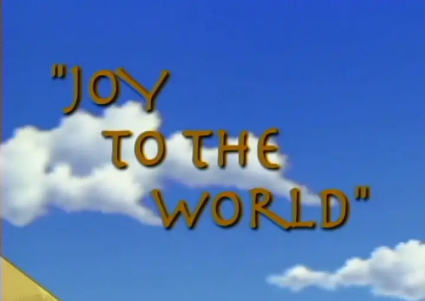 Bugtime Adventures - Joy to the World - The Christmas Story