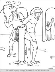 Sorrowful Mystery 02 - The Scourging at the Pillar