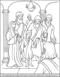 Joyful Mystery 05 - Finding in the Temple