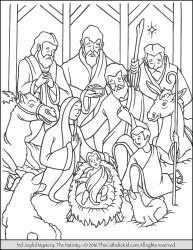 Joyful Mystery 03 - The Nativity