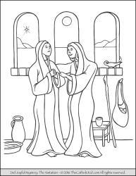 Joyful Mystery 02 - The Visitation