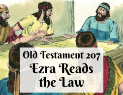 OT 207 - Ezra Reads the Law