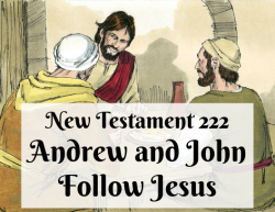 NT 222 - Andrew and John Follow Jesus