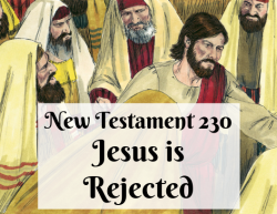 NT 230 - Jesus is Rejected