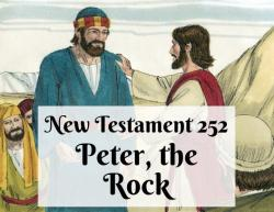 NT 252 - Peter the Rock