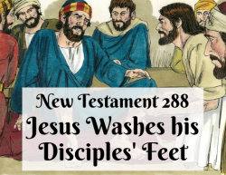 NT 288 - Jesus Washes his Disciples' Feet