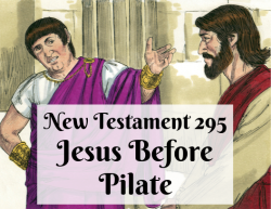 NT 295 - Jesus Before Pilate