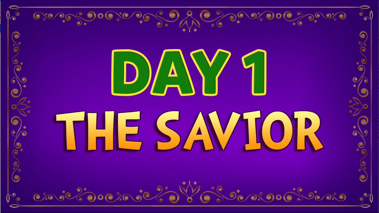 Brother Francis: Advent Day 1 - The Savior