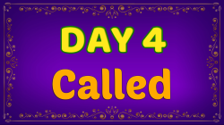 Brother Francis - Advent Day 04 - Called
