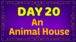Brother Francis - Advent Day 20 - An Animal House