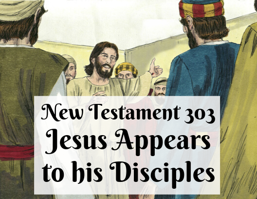 New Testament 303 - Jesus Appears to his Disciples
