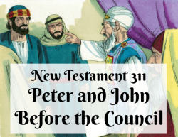 NT 311 - Peter and John Before the Council