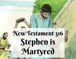 NT 316 - Stephen is Martyred