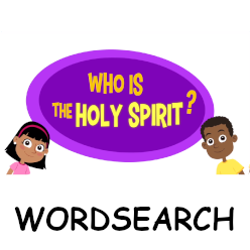 Adventure Catechism Lesson 03 - Who is the Holy Spirit? - Wordsearch
