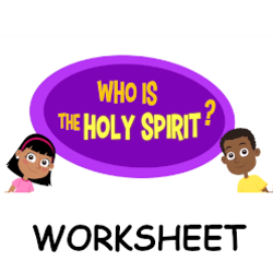 Adventure Catechism Lesson 03 - Who is the Holy Spirit? - Worksheet