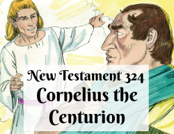 NT 324 - Cornelius the Centurion