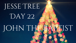 Jesse Tree 22 - John the Baptist