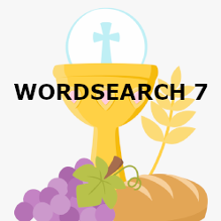 First Communion - Wordsearch 7