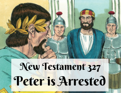 NT 327 - Peter is Arrested